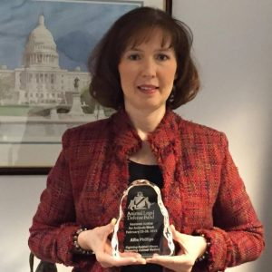 2015 Top Defender of Animals from the Animal Legal Defense Fund