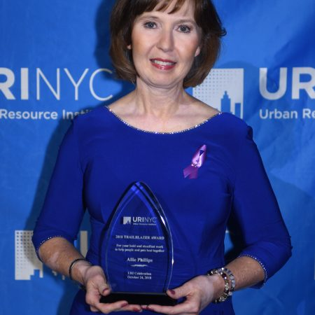 2018 Trailblazer award from Urban Resource Institute